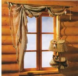 Drapery Toppers Cabin Curtains And Window Treatments Ideas