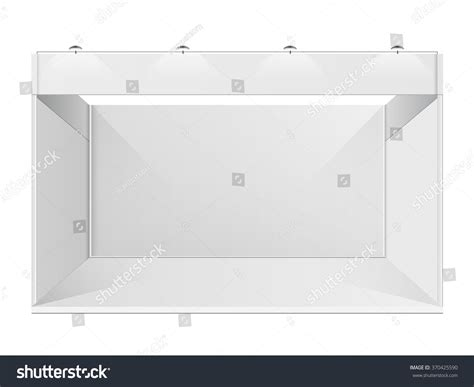 exhibition booth design vector white creative exhibition stand design booth stock vector