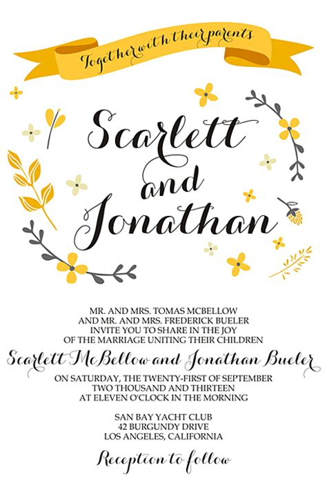 Wedding Invitation Downloadable Designs by Excellent Downloadable Wedding Invitations Theruntime