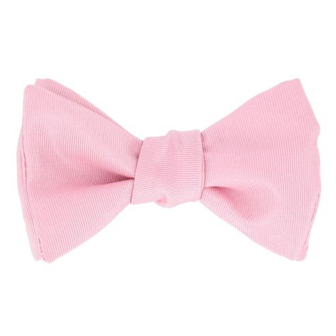light pink bow tie pink satin bow tie bow ties the house of ties