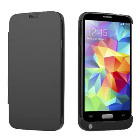 Power Bank Untuk Samsung S5 samsung galaxy s5 power bank flipcase zwart mobilefun nl