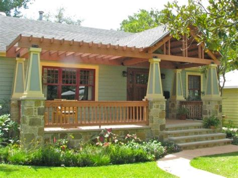Country House Plans with Front Porch Bungalow Front Porch
