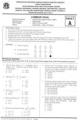 format daftar hadir try out ujian nasional 171 blog smp negeri 9 depok