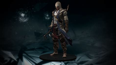 assassin s creed iii connor kenway figure by alaska
