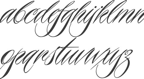 piel tattoo font generator myfonts calligraphic typefaces