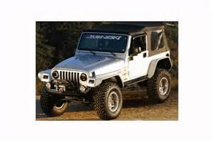 Xenon Jeep Tj Fender Flares Xenon Jeep Wrangler Flat Panel Fender Flares
