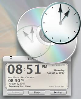 alarm clock for mac itunes alarm apple macbook applications
