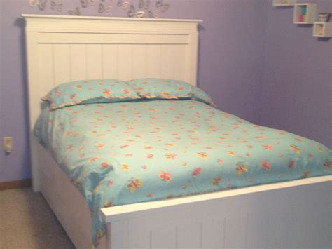double farmhouse beds  trundle bed ana white