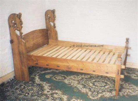 viking bed new carved wood viking dragon revival bed furniture