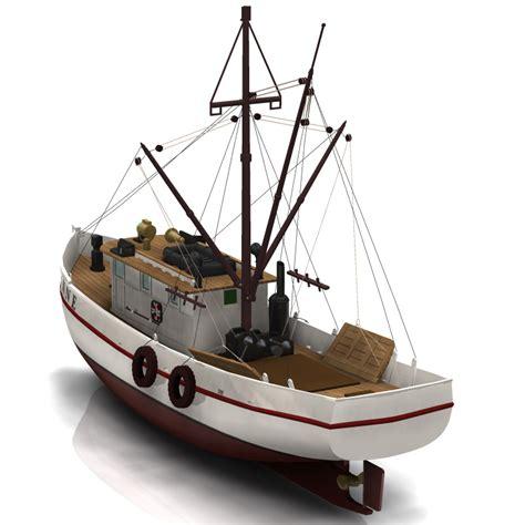 shrimp boat engines shrimp boat for poser 3d models digimation modelbank