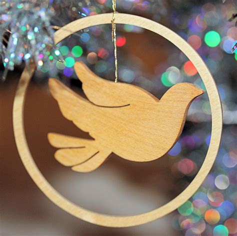 homemade  christmas ornaments  happy acres