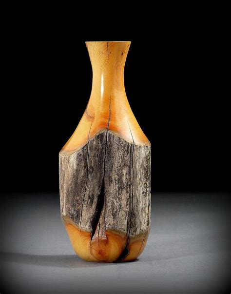 Turning Vases by Quot Fencepost Quot Vase Of Buckthorn Wood Timberturner