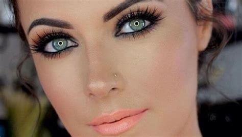 tutorial para maquillarse como kiss como maquillarse los ojos verdes paso a paso megalindas