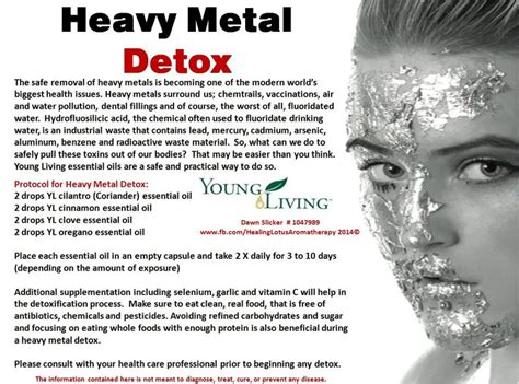 Detox Heavy Metals by What To Use After Vaccines To Detox Want To Learn More