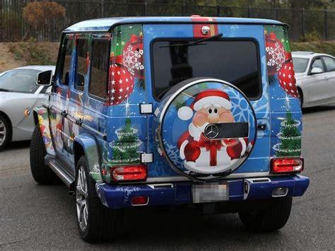 Dekorasi Mobil Sambut Natal Justin Bieber Modifikasi Mobil Mewahnya Seperti Ini Jeripurba