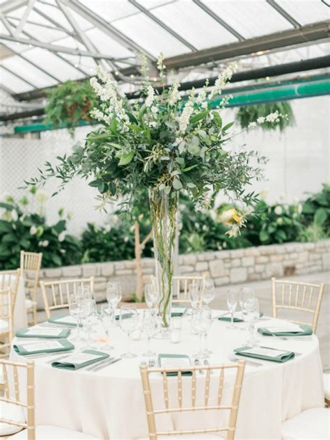 Center Wedding Flowers by Ethereal Horticultural Center Wedding Kate Leland