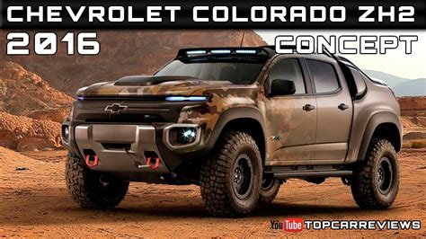 chevrolet colorado zh concept review rendered price