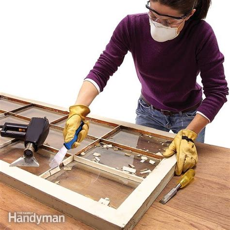 fensterkitt erneuern how to glaze a window single pane the family handyman