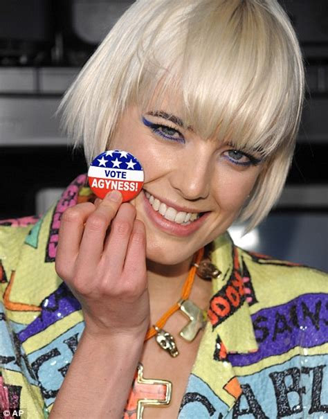 Before She Was Aygness Deyn She Was From The Chip Shop by Model Agyness Deyn Voted Most Annoying As She