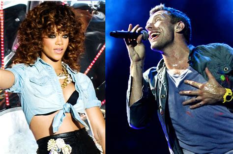 coldplay rihanna coldplay cover rihanna s we found love that grape juice
