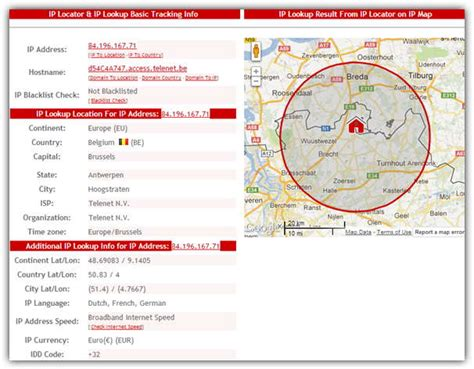 Ip Address Lookup Map 7 Free Services To Trace A Location From An Ip Address Raymond Cc