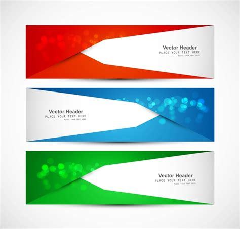 header graphic design definition abstract header colorful wave vector design free vector in