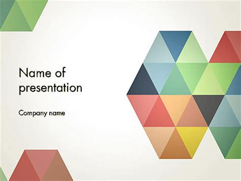 colorful modern circles powerpoint templates modern colorful triangle shapes powerpoint template backgrounds 12505