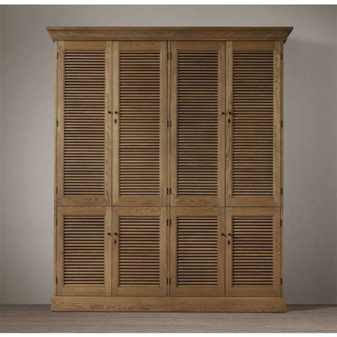 shutter armoire shutter double armoire 2 290 liked on polyvore