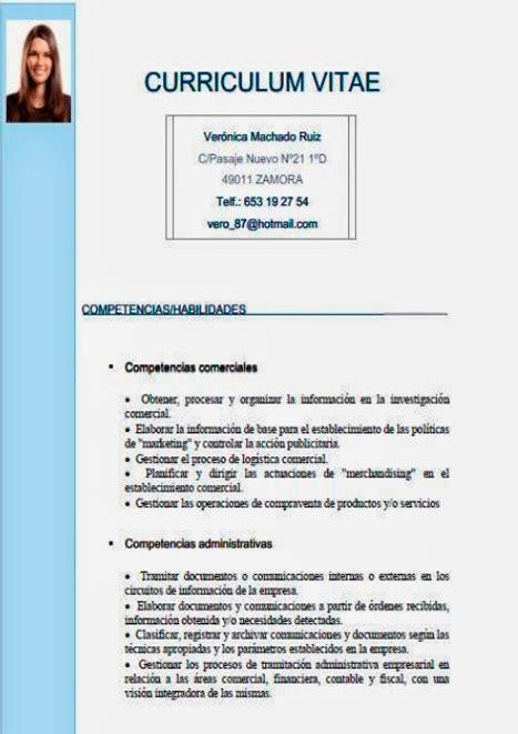 Que Es Un Modelo Curricular Por Competencias Gu 205 A 191 C 243 Mo Hacer Un Curriculum Vitae Plantillas Para Cv Marianocabrera