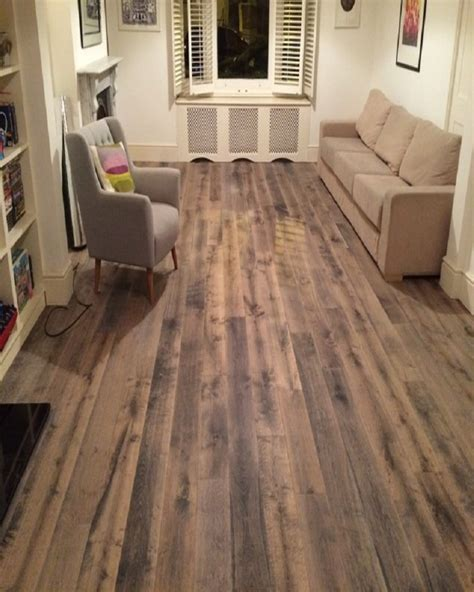 irongray engineered oak real wooden floor london stock 190mm wood4floors