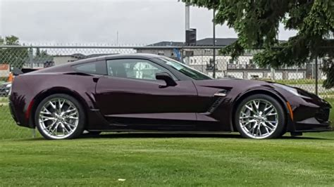What Does Z06 by 2017 Corvette Z06 Black Metallic
