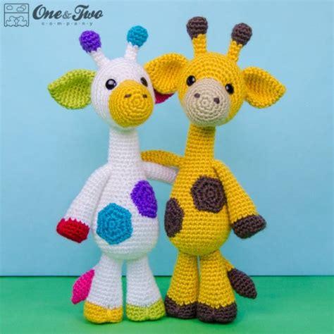 amigurumi patterns download free geri the giraffe lovey and amigurumi crochet patterns pack