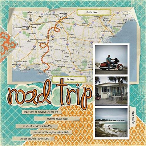 scrapbook layout ideas 5 photos travel layout invincible summer scrapbooking travel