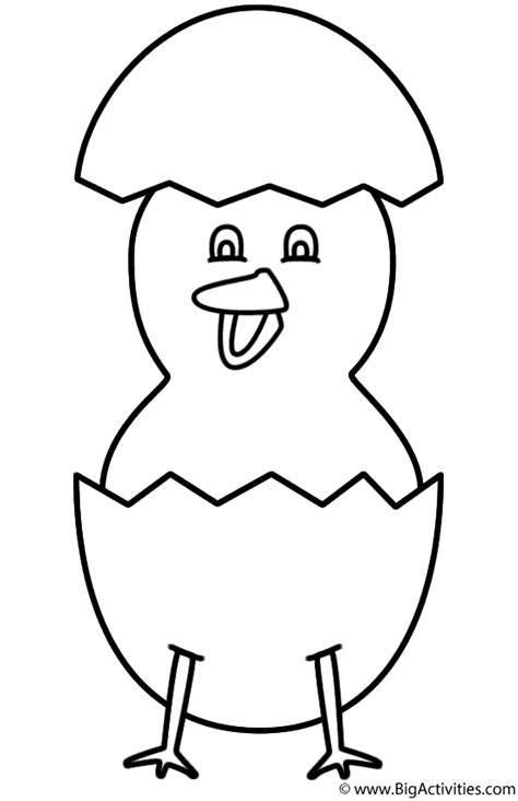 big chicken coloring page how to draw bigbabychick