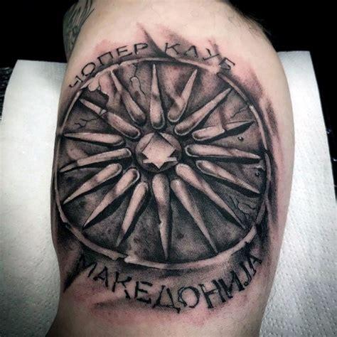 macedonian tattoos designs macedonian shield www picswe