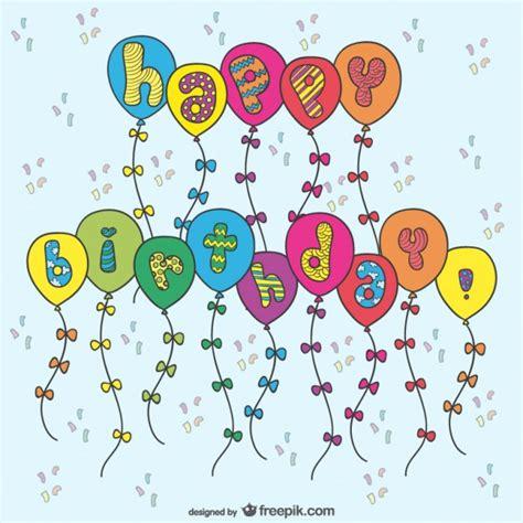 imagenes de happy birthday runner geburtstagskarte mit luftballons download der