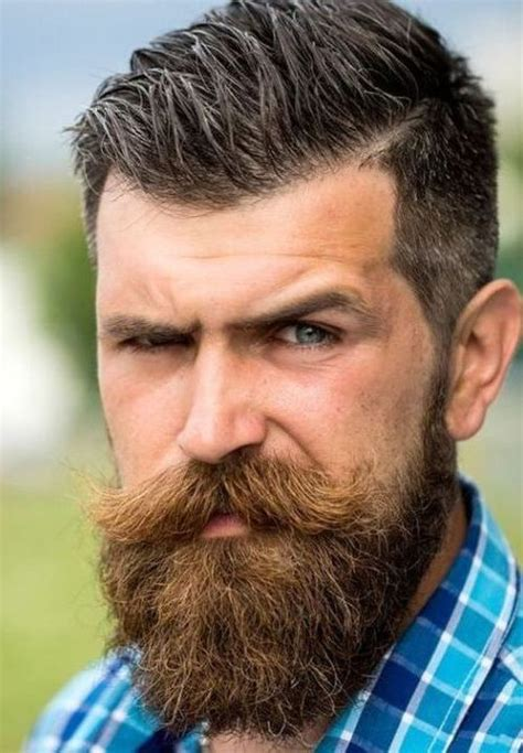 hairstyles that go with a moustache 24 cool full beard styles for men to tap into now