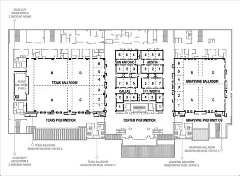 conference floor plan gaylord texan resort convention center event planning