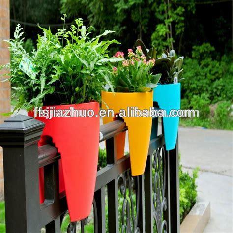 vasi da ringhiera balcone di plastica vasi di fiori ingrosso 232 ringhiera