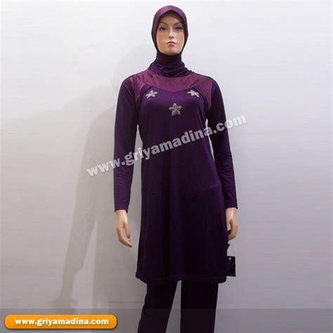 Kebaya Ungu 3in1 baju muslim wanita koleksi 31 madina griya busana
