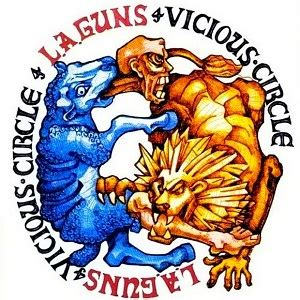 album la guns vicious circle l a guns album