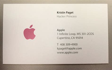 apple business card template apple business card former apple security engineer to