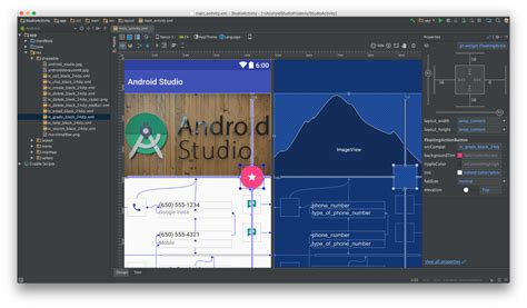 android studio layout editor android studio 2 2 layout editor et am 233 lioration d