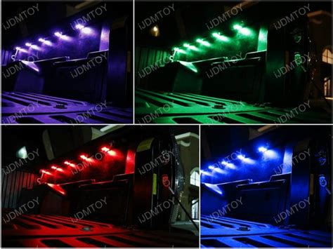 wireless truck bed lights universal truck bed rgb led lights cargo area storage