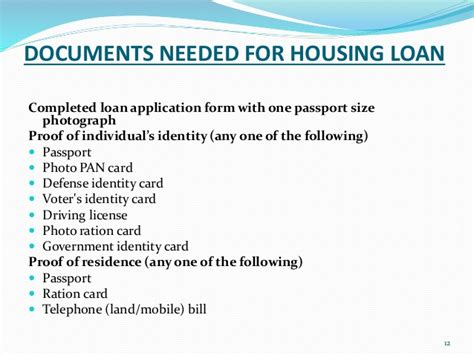documents needed for buying a house documents needed to buy a home