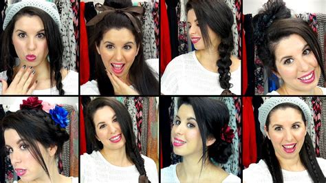 how to do new hairstyles for school 8 easy effortless school hairstyles youtube