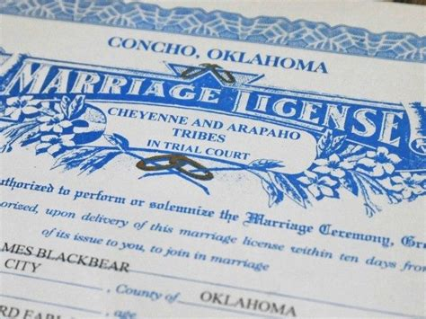 Oklahoma Marriage License Records Oklahoma House Approves Bill Shifting Marriage Licenses From State To Clergy Breitbart