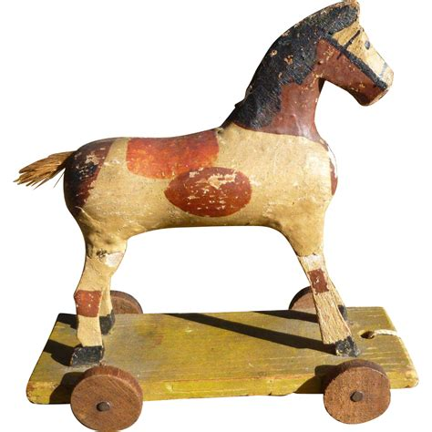 How To Make Paper Mache Toys - paper mache pull from amazingamericana on ruby