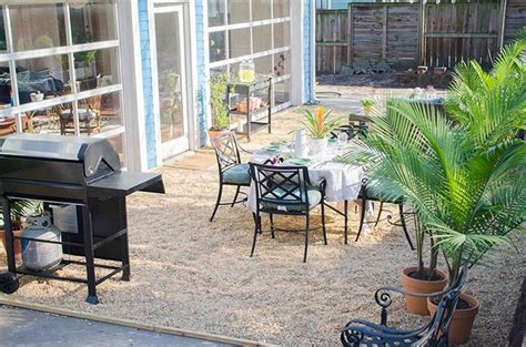 how to make a gravel patio how to create a chic gravel patio home the o jays and chic