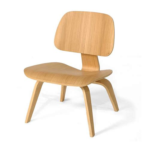 eames molded plywood chair ash wood eames style molded plywood lounge chair mid